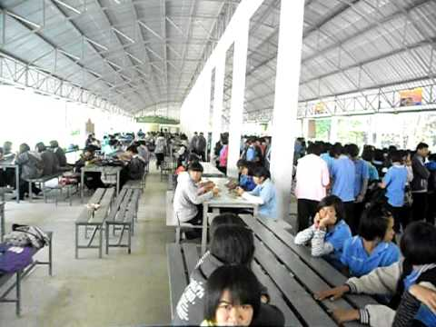 Lunchtime At Ubolratana School