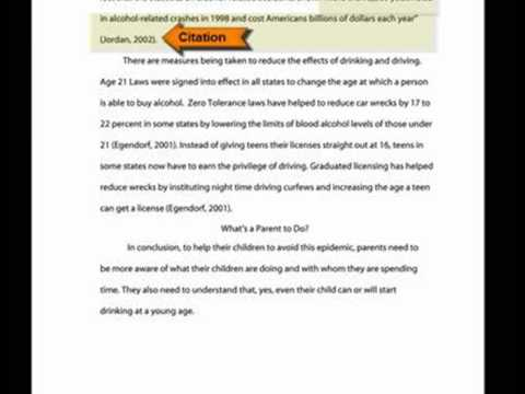 Apa Essay Papers Apa Style Research Papers Example Of Format And
