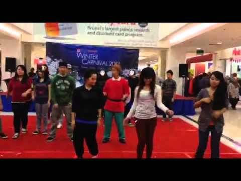 Flashmob : 22nd December 2013 : Times Square Shopping Centre Brunei