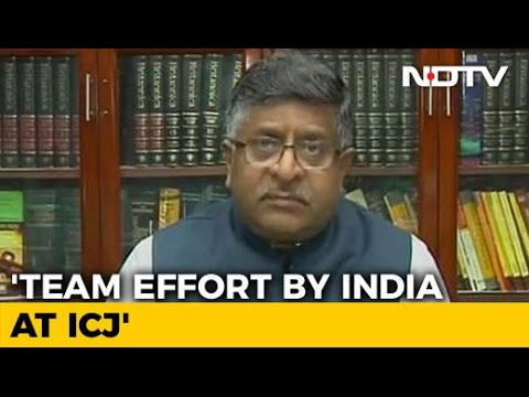 'Team Effort' Led To Stay On Kulbhushan Jadhav's Execution: Ravi Shankar Prasad To NDTV