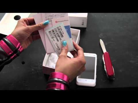 HTC Radar 4G Unboxing