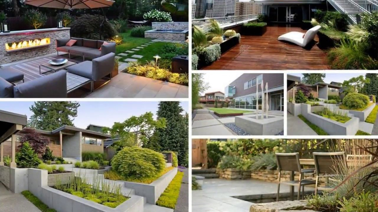 Modern Garden Design Front Of House Ideas