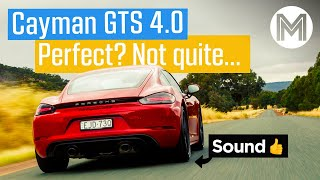 Porsche Cayman GTS 4.0 review: why it's NOT perfect | MOTOR