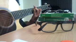Woh Dekhne Mein Guitar Cover | London Paris Newyork