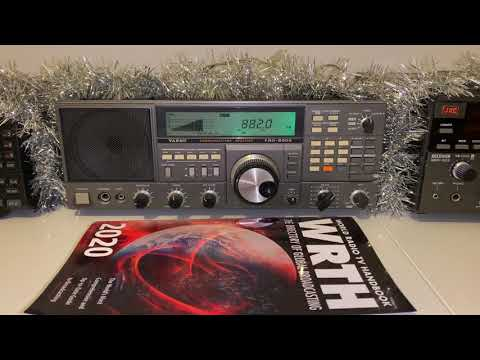 Bringing in the New Year with BBC Radio Wales 882 kHz MW...for a change!