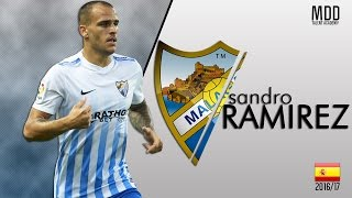 Sandro Ramírez | Malaga | Goals, Skills, Assists | 2016/17 - HD