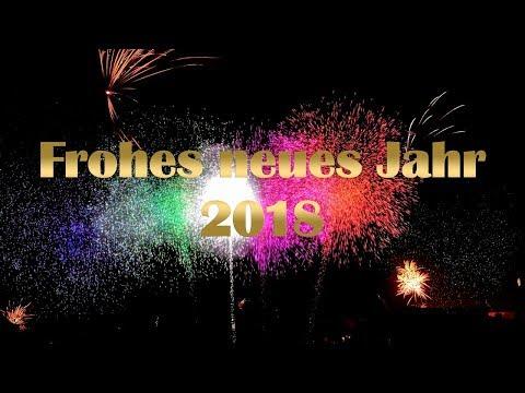 Neujahrstag 2018 🎆 Frohes neues Jahr 2018 🍾 Neujahr 2018 🎉 Happy New Year 2018
