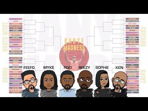 Kanye West Madness Bracket | DEHH Convo