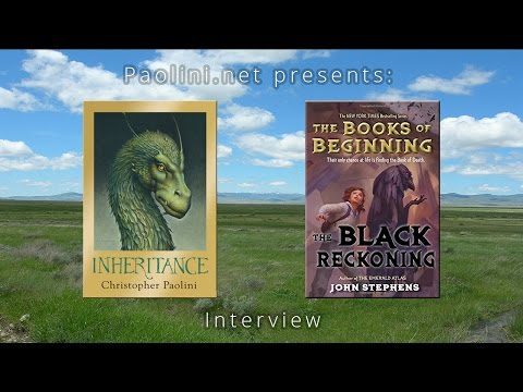 Christopher Paolini Interviews John Stephens
