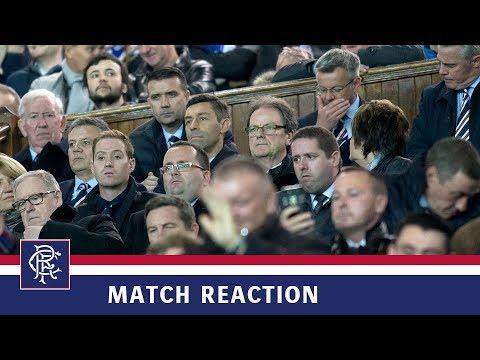 REACTION | Pedro Caixinha | Rangers 1-1 Kilmarnock