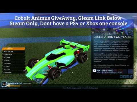 Cobalt Animus GP Giveaway!!!! Link In Description | Rocket League