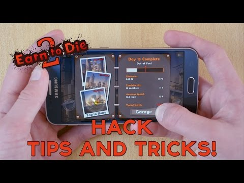 Earn to Die 2 Hack, Tips and Tricks!