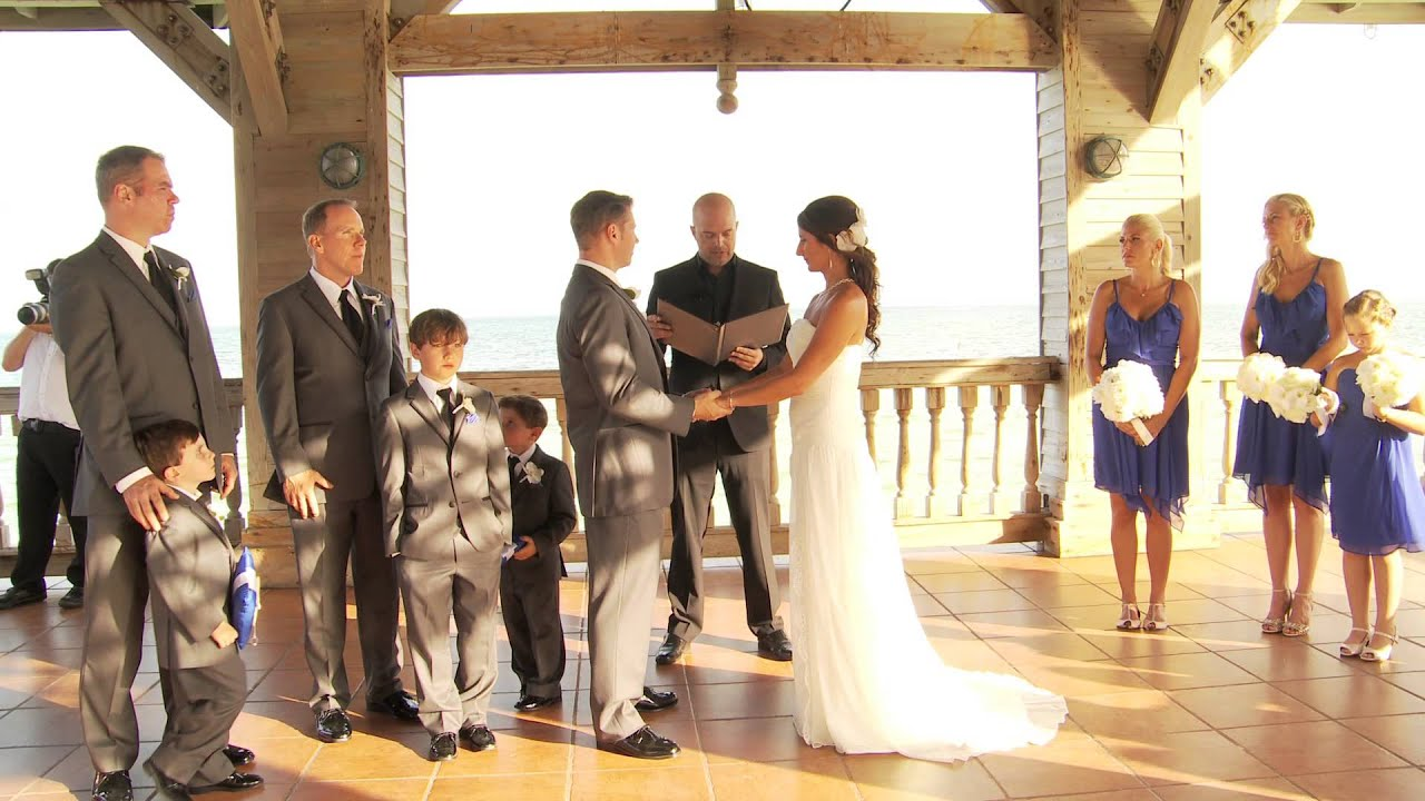 Key West Wedding Video The Reach Resort