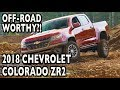 Can the 2018 Chevy Colorado ZR2 Handle Off-Road Driving?