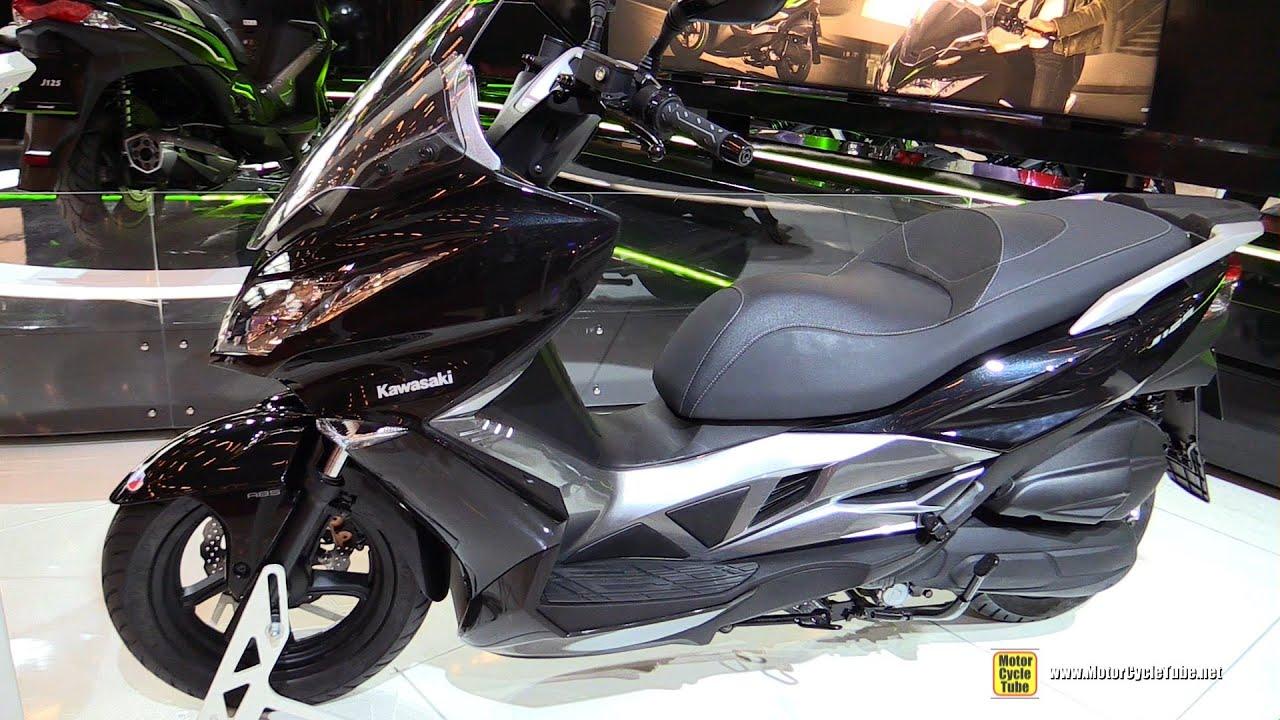 2016 Kawasaki J125 Abs Scooter Walkaround 2015 Salon De La Moto