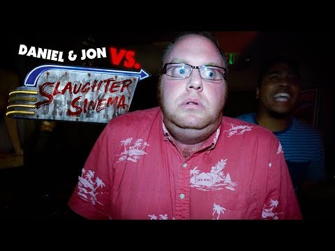 Daniel & Jon vs. Slaughter Sinema   Halloween Horror Nights 2018
