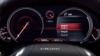 BMW 6 Series Gran Turismo - Audio System Controls (External Music Sources)