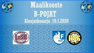Maalikooste LoSB  - ÅIF/PSS Akatemia (II) (B pojat jatkosarjapeli 19..2020)