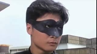 Черная маска 3 (зеленый шершень)