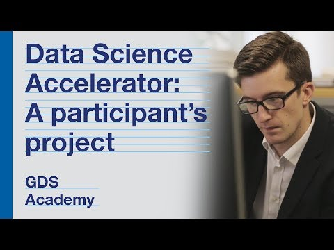 Data Science Accelerator programme: one participant's project