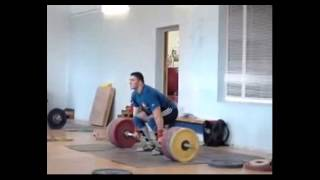 Dmitriy Berestov 240kg Clean and Jerk