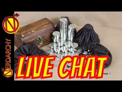 What is a Dragon's Hoard without Coins in D&D- Nerdarchy Live Chat #260