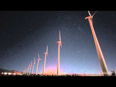 Windmills Time Lapse, Palm Springs, CA
