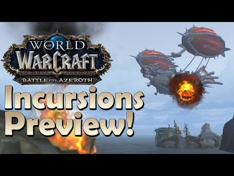 The New BFA Invasions of Patch 8.1 - Early Preview | Battle for Azeroth