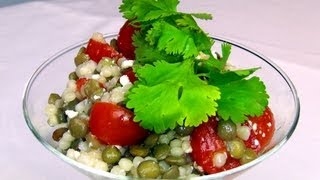 How To Make Lentil Couscous Salad Recipe