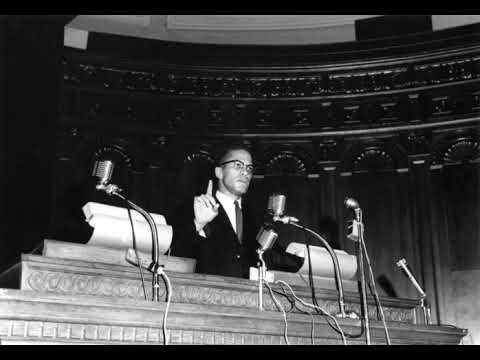 Malcolm X & Dr. Amos Wilson The Black Vote & The Suburban Vote