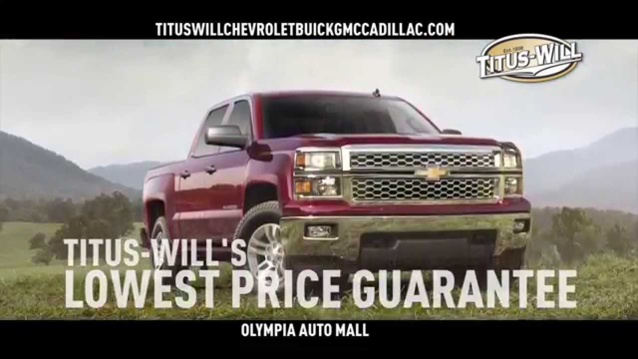Titus Will Chevrolet Olympia Labor Day Sale