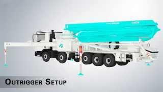 EVERDIGM concrete pump 50cx-5