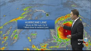 Download Video Hurricane Lane strengthens, expected to make turn toward Hawaii later this week MP3 3GP MP4