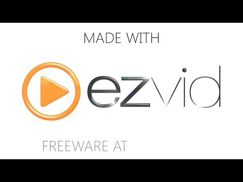 How to change ezvid intro video