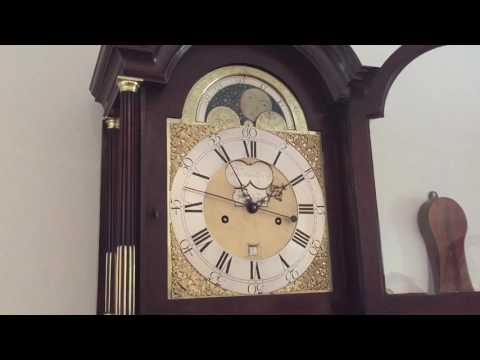 London Longcase clock with Moonphase