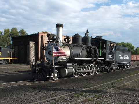 """D&RGW #315 """"Return To Steam"""" 10th Anniversary Private Charter. August 26th. 2017"""