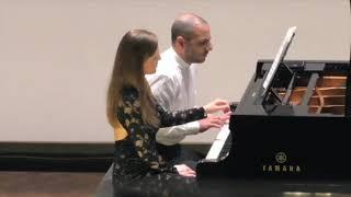 Rachmaninov:6 morceaux op.11- Russian theme/ Sara Costa & Fabiano Casanova Piano Duo