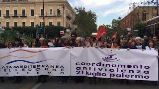 Palermo, in centinaia in piazza contro il ddl Pillon