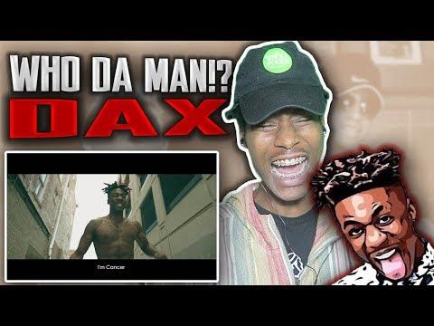 HE SENDING SHOTS!! 🔥 DAX - Who Da Man? (DissGod/ricegum Diss Track) [Official Music Video] REACTION