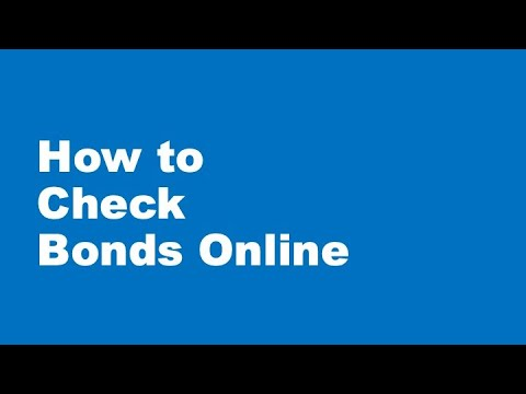 How To Check Bonds In Canada