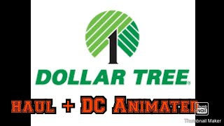 Dollar Tree haul/ DC Universe animated haul