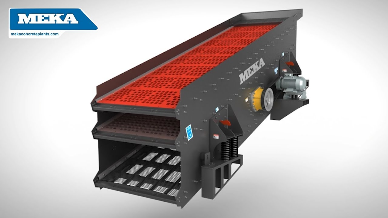 Inclined Vibrating Screens - MEKA
