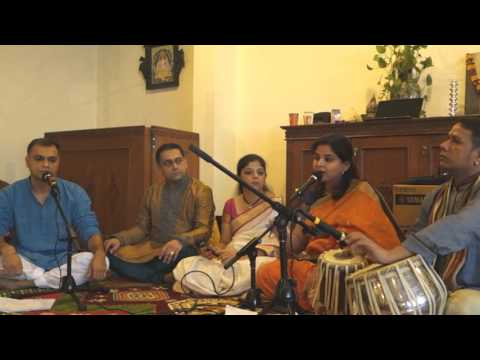 Rachilya Rishi Munini - Arpita Patankar ::Amhi Marathi Jakarta :: Ganeshotsav 2015