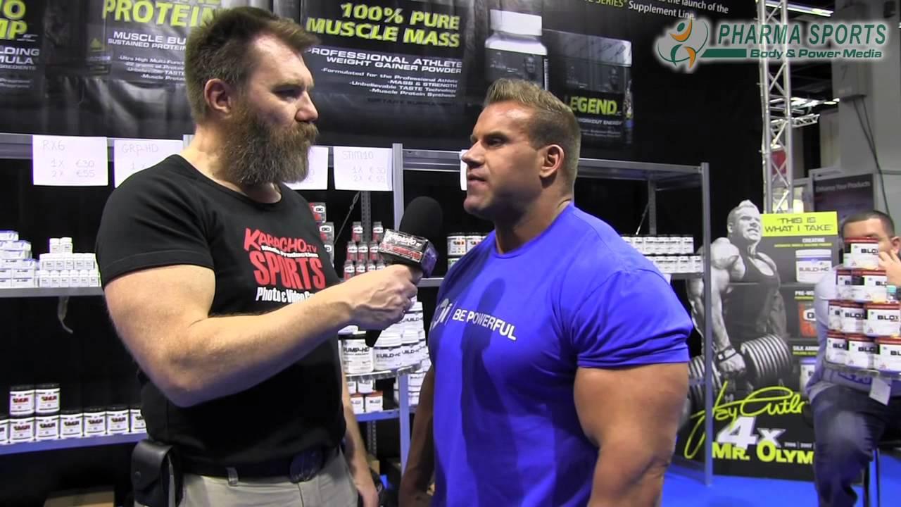 Fibo 2013 Bodybuilding Jay Cutler Pharmasports informiert ...