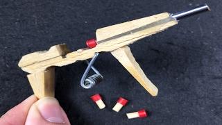 How to Make an AK-47 GUN that SHOOTS