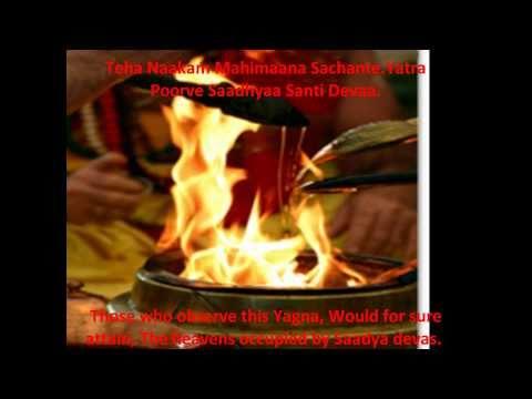 Purusha Suktam RigVed With Subtitles