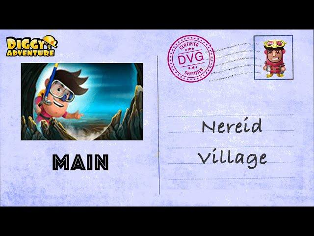[~Atlantis Main Map~] #12 Nereid Village - Diggys Adventure