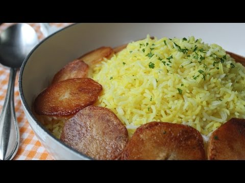 My Familys Secret Garlicky Middle Eastern Rice Recipe! الأرز مع الثوم والكركم