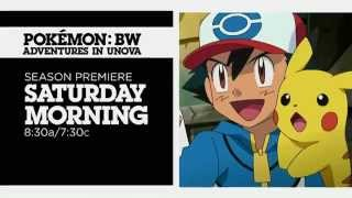 Cartoon Network Promo: Pokémon BW: Adventures in Unova