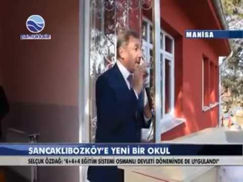 """PAMUKKALE TV """"SANCAKLI BOZKÖY'E YENİ BİR OKUL"""" (16 OCAK 2015)"""